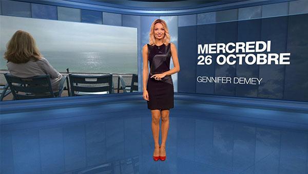Miss Météo Gennifer